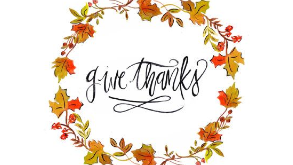 November give thanks. News village the mentoring
